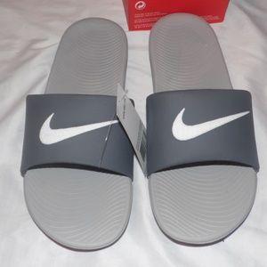 Nike Kawa Slide Gray Men's Sandals Size 10
